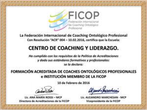Formación Acreditada por FICOP